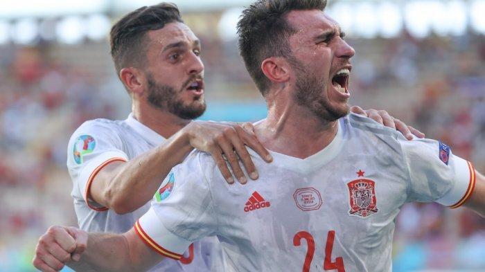 Slowakia vs Spanyol 0-2, Laporte Cetak Gol di Injury Time Tapi Swedia Pimpin Grup Gebuk Polandia 1-0