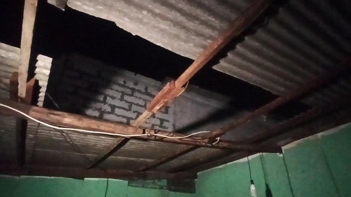 134 KK Terdampak Angin Puting Beliung di Koja, Atapnya Hancur Berantakan