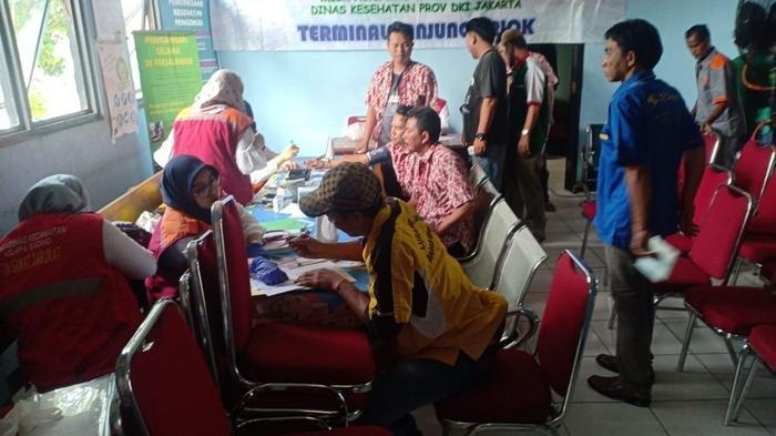 Libur Natal dan Tahun Baru, Belum Ada Temuan Sopir Tak Layak Mengemudi di Terminal Tanjung Priok