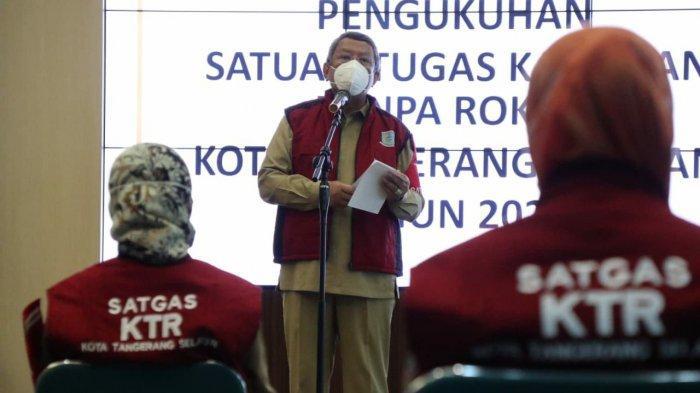 Pemkot Tangsel Berlakukan Satgas KTR Dalam Menertibkan Perokok yang Bandel