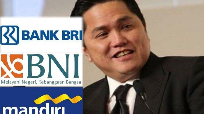 Benarkah Menteri Erick Thohir Bakal Rombak Posisi Para Bos di 3 Bank BUMN Ini?