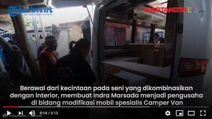 VIDEO Jasa Modifikasi Mobil Camper Van di Depok Alami Kenaikan Signifikan