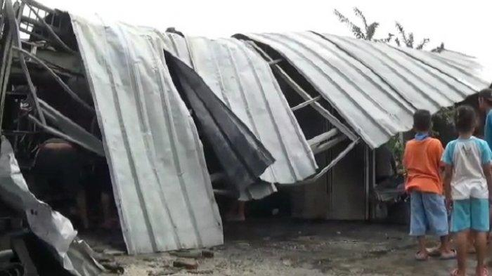 Kebakaran Bengkel Motor di Tambun Kabupaten Bekasi, 2 Motor Lagi Diperbaiki Hangus Terbakar