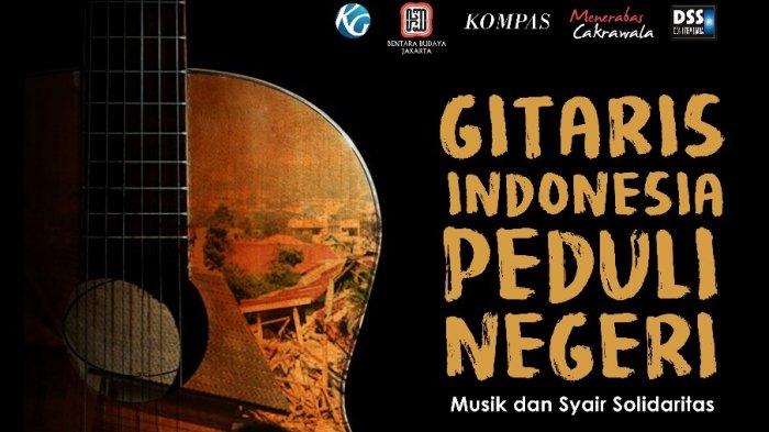 Kamis Besok 65 Gitaris dan Penyanyi Galang Dana Untuk Korban Gempa Bumi dan Tsunami di BBJ