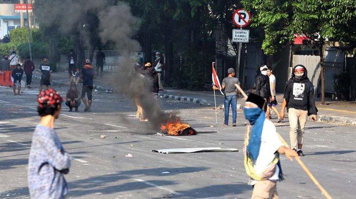 Polisi Identifikasi Massa Anarkis di Bawaslu dan Pelaku Pembakaran di Petamburan