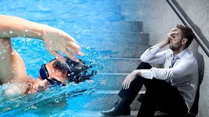 Berenang di Air Dingin Membantu Melawan Stres dan Depresi yang Mendera Anda