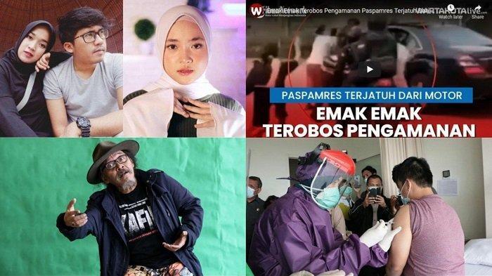 BERITA POPULER: Nissa Sabyan Menangis   Paspampres Jatuh dari Motor   Sujiwo Tejo   Vaksin Covid-19
