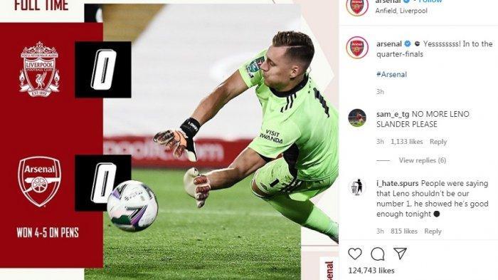 Arsenal Hadapi Man City Usai Singkirkan Liverpool di Piala Liga Inggris, Begini Komentar Arteta
