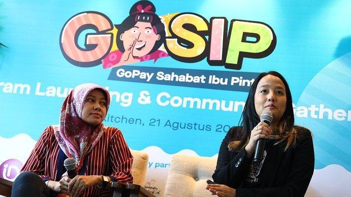 Ini Keuntungan Ibu-ibu Jadi Anggota Komunitas GOSIP, Kolaborasi GoPay dan Alfamart