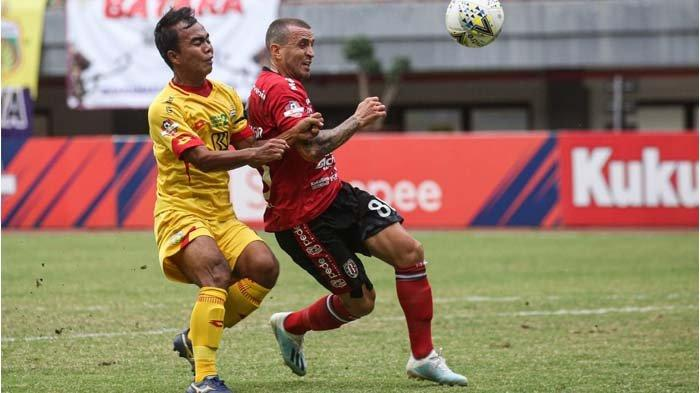 Skor Kaca Mata di Laga Bhayangkara FC vs Bali United