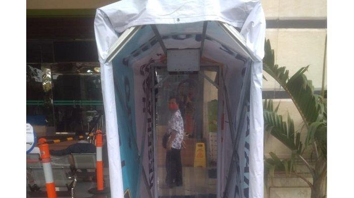 Cegah Wabah Virus Corona, Bilik Disinfektan Disediakan di Puskesmas Kecamatan Kelapa Gading