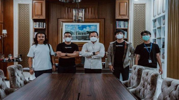 Komisaris SMEs Hub Indonesia, Rian D'Masiv Jumpa dengan Bima Arya, Jajaki Kerjasama Kembangkan UMKM