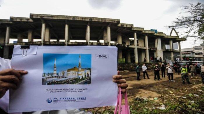 Pembangunan Alun-alun Kota Bogor Beres Tahun 2021, Masjid Agung Hingga 2022, Ini Kata Bima Arya