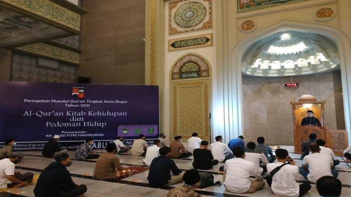 Peringatan Nuzulul Quran di Kota Bogor, Bima Arya: Jawaban dari Cobaan yang Dialami Ada di Al Quran