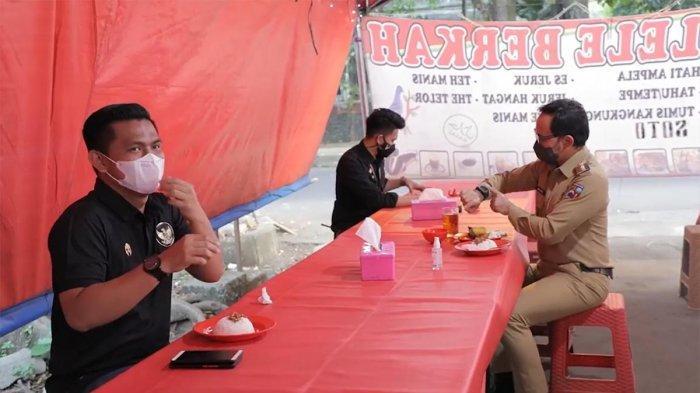VIDEO : Wali Kota Bogor Bima Arya Makan di Warung Pecel Lele, Butuh Berapa Menit?