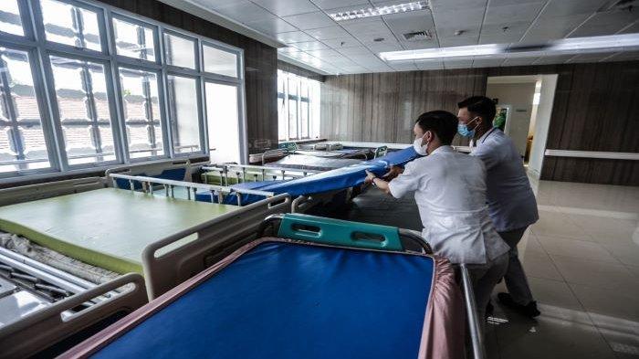 Keterisian Tempat Tidur Pasien Covid-19 RSUD Kota Bogor Capai 75 Persen dan Pasien Terus Tambah