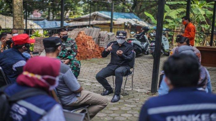 Satgas Covid-19 Kota Bogor Terus Tes PCR Kontak Erat Warga Griya Melati Bogor, Semprot Disinfektan