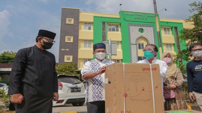 Satgas Covid-19 Kota Bogor Bagikan 100 Oksigen Konsentrator Bantuan Menko Luhut ke Rumah Sakit