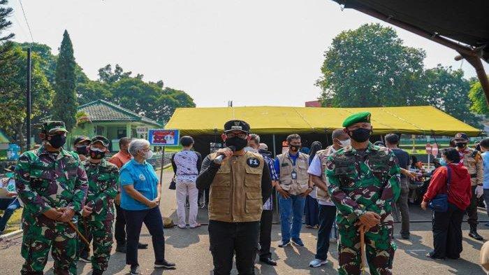 Vaksinasi Massal Kota Bogor, Bima Arya Sebut Warga yang Divaksin Capai 20 Persen atau 17.224 Orang