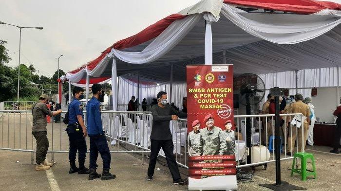 Dari 500 Warga Bojonggede Kabupaten Bogor Jalani Rapid Test Antigen, 27 Orang Dinyatakan Reaktif