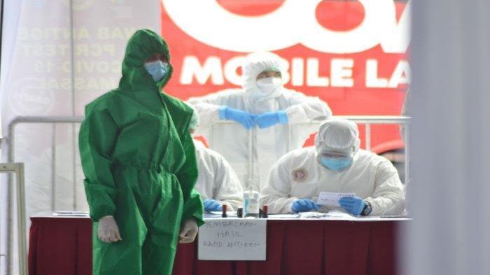 Kerahkan 2 Mobil Laboratorium PCR, Ini yang Dilakukan BIN Terhadap Warga Bojonggede Kabupaten Bogor