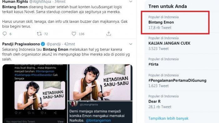 Bintang Emon Jadi Trending di Twitter, Diduga Ia Diserang Buzzer dan Dituduh Gunakan Sabu, Benarkah?