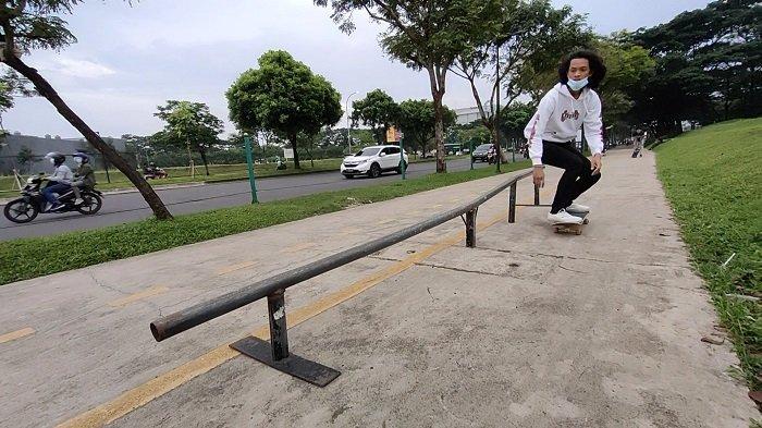Nasib Para Pehobi Skateboard di Tangsel Merana, Sering Dimarahi Petugas karena Bermain di Trotoar
