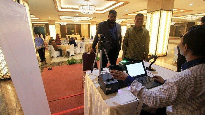 Berita Foto Pelaksanaan Rekam Biometrik untuk Jemaah Haji 2019