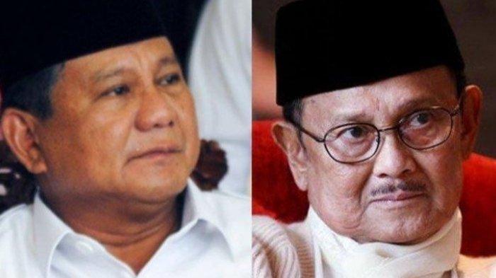 BJ Habibie Singgung Prabowo Subianto: Andaikata Prabowo Ucapkan Selamat ke Jokowi