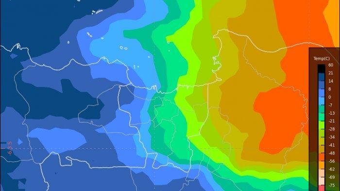 Peringatan Dini Cuaca Jabodetabek Hari ini Jumat (21/2) Pagi, Waspadai Hujan Lebat dan Angin Kencang