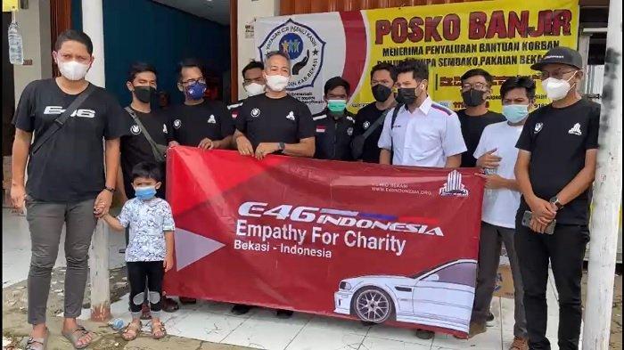 Empathy For Charity, BMW E46 Indonesia Salurkan Sembako dan Masker untuk Korban Banjir di Bekasi