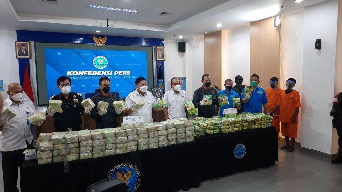 BNN Ungkap Jaringan Sabu-sabu Thailand-Aceh, Sindikat Ini Transaksi di Tengah Laut