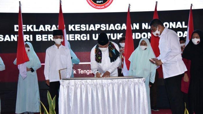 BNPT Gelar Deklarasi Kesiapsiagaan Nasional Bersama Santriwan-Santriwati