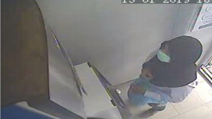 Pria Pembobol ATM yang Pakai Jilbab dan Masker Sudah 91 Kali Beraksi dan Kuras Duit Ratusan Juta