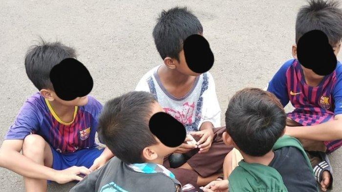 Beberapa anak di bawah umur ditemukan KPAI ikut demo UU Cipta Kerja, Selasa, 13 Oktober 2020