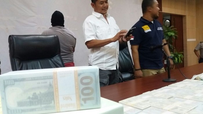 Uang Dolar Palsu Rp 2,9 Miliar Siap Edar di Kelapa Gading Digagalkan Polres Pelabuhan Tanjung Priok