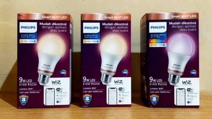 Philips Smart WiFi LED, Bohlam Lampu PIntar dengan Pengaturan Cahaya via Smartphone, Ini Harganya