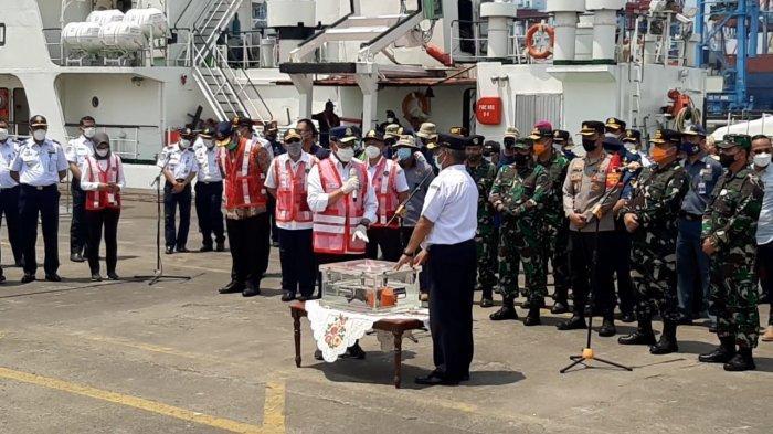 Black Box CVR Sriwijaya Air SJ-182 Baru Ditemukan Hari Kelima oleh Kapal Penyedot Lumpur