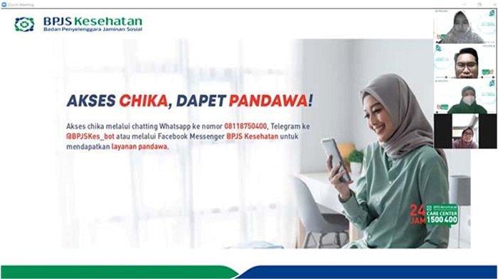 Optimalkan Pelayanan, BPJS Kesehatan Jakarta Barat Giat Sosialisasikan Layanan Non Tatap Muka