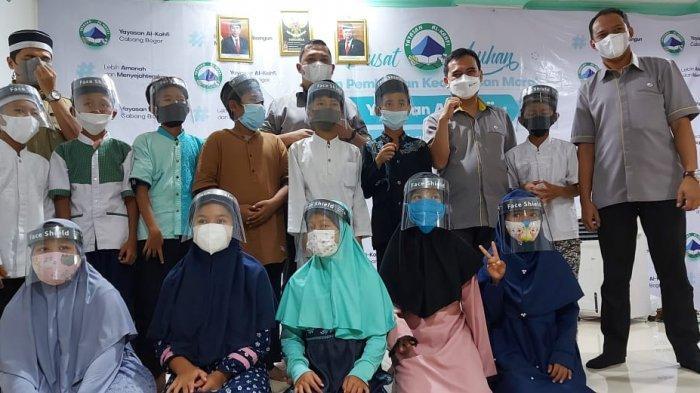 Sambangi Panti Asuhan, BPJS Ketenagakerjaan Kota Bogor Memberikan Edukasi