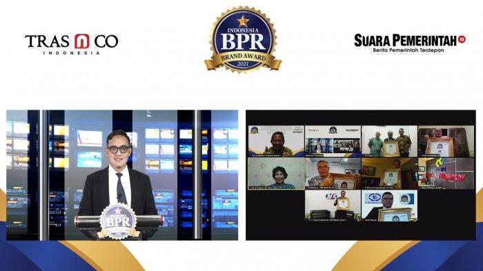 Apresiasi Kinerja Bank Perkreditan Rakyat, Tras N CO Indonesia Gelar BPR Brand Award 2021