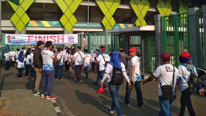 Sekitar 3.000 karyawan BPR dan BPRS se Jabodetabek Akhirnya Bisa Gelar Acara Jalan Sehat