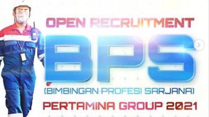 Lowongan Kerja 2021, Dibuka Rekrutmen BPS Pertamina Group 2021, Berikut Link dan Syarat Pendaftaran