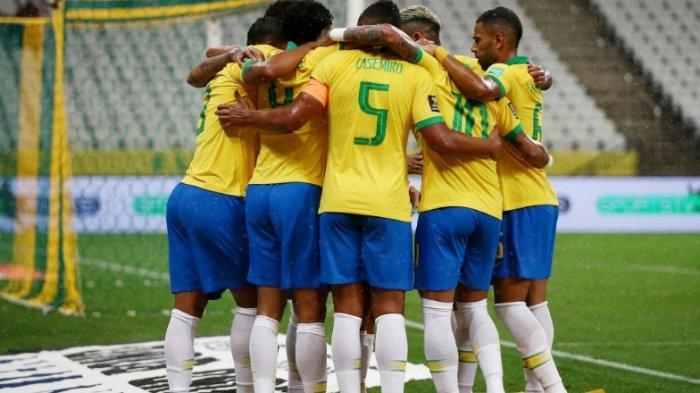 Hasil Lengkap dan Klasemen Kualifikasi Piala Dunia 2022,  Brasil Hajar Bolivia 5-0 dan ke Puncak