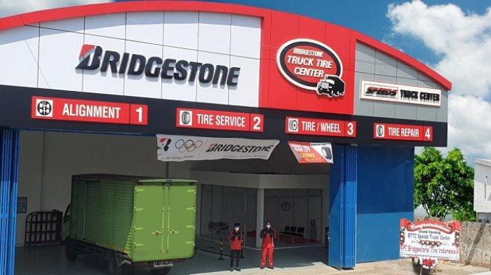 Bridgestone Resmikan Pusat Layanan Ban Truk di Jl Raya Semarang-Kendal KM 11