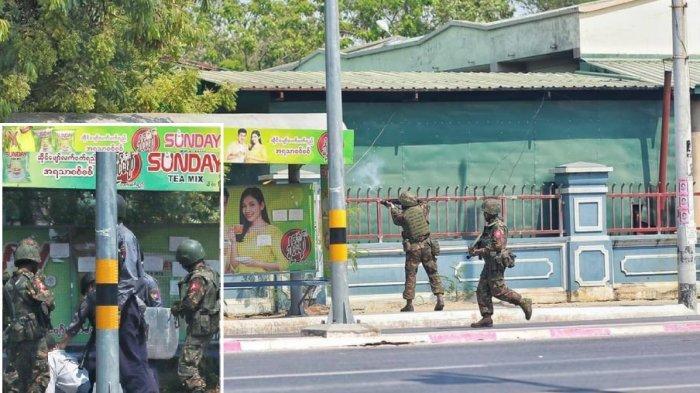 Myanmar Makin Brutal, Terbaru Dua Orang Demonstran Dilaporkan Meninggal Dunia Kena Tembakan
