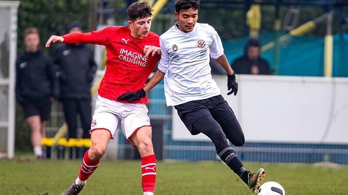 Pemain Timnas Indonesia U-19 Brylian Aldama Gabung Klub Kroasia