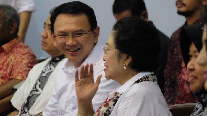 BTP Pamer Kenakan Baju Putih Bersama Megawati: Saya Bukan Golongan Putih, 17 April 2019 Ayo Memilih!