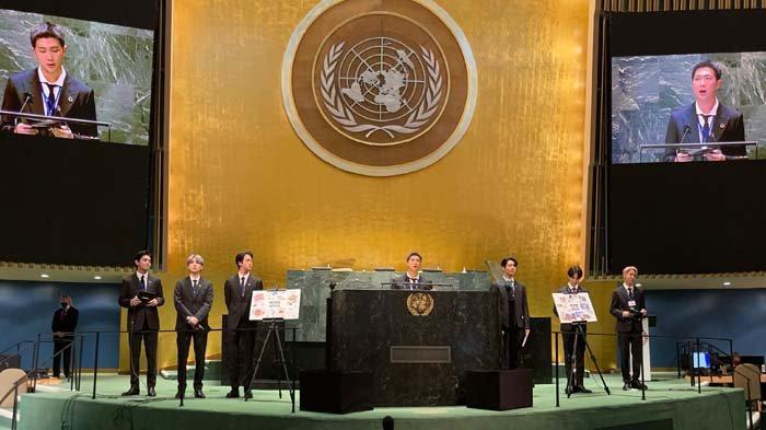 Luar Biasa, 1 Juta Orang Berkunjung ke YouTube PBB untuk Saksikan Pidato BTS di Sidang Umum PBB