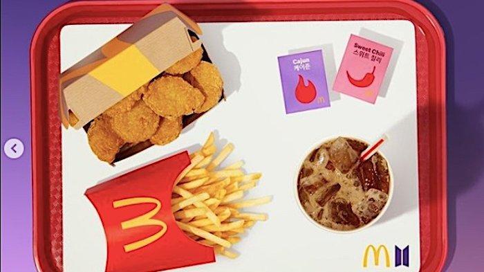 Ini yang Membuat BTS Meal McDonalds Jadi Istimewa   Cara Pesan Lewat 5 Aplikasi Ini
